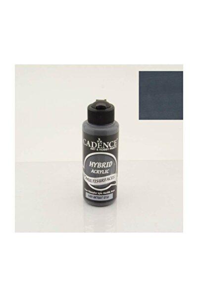 Cadence Hybrid Multisurface Akrilik Boya 120 ml. H-091 Antrasit Siyah