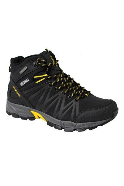 lumberjack Shell Hi Siyah Sarı (40-48) Waterproof Outdoor Ayakkabı Bot