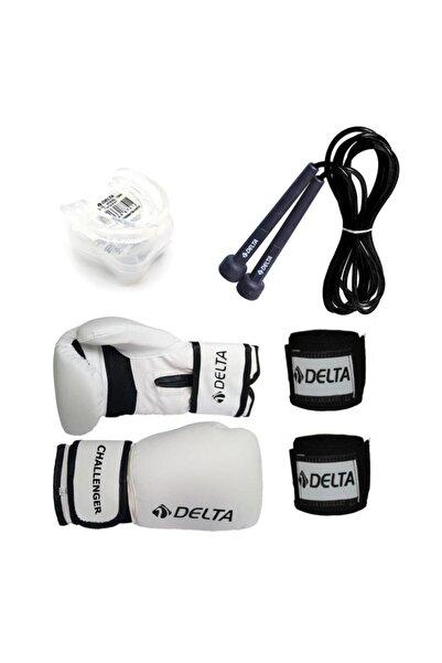 Delta Stron Boks Seti (Boks Eldiveni - El Bandajı - Atlama Ipi - Dişlik)