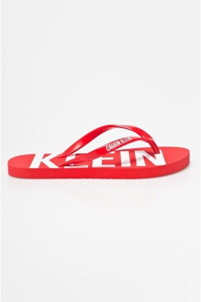Calvin Klein Ünisex Sandalet - Kırmızı