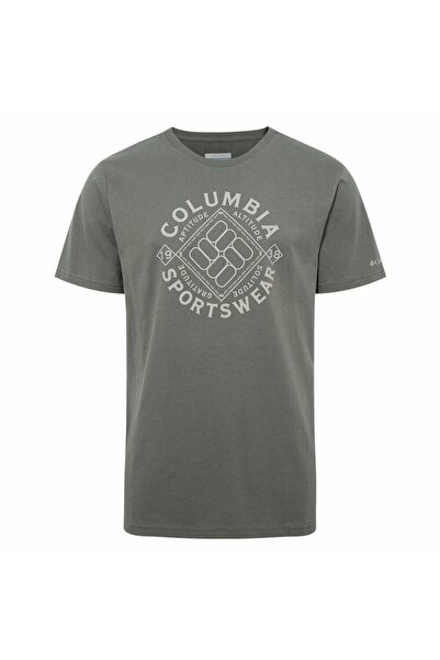 Columbia Toug Terrain Ss Tee Erkek Kısa Kollu Tişört Cs0077-339