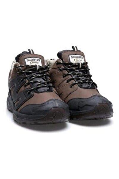 M5222 Kahve Su Geçirmez Anotomik Erkek Ayakkabı Bot
