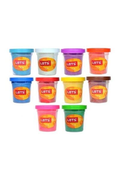 Lets 10 Renk Oyun Hamuru 560 gr. L83100