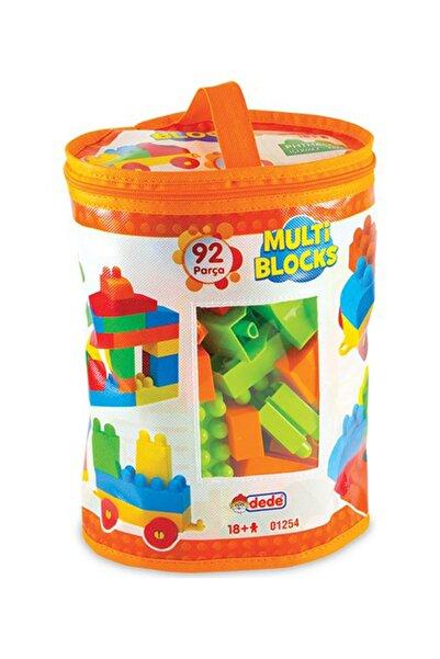 DEDE Multi Blocks 92 Parça Blok Torbaları