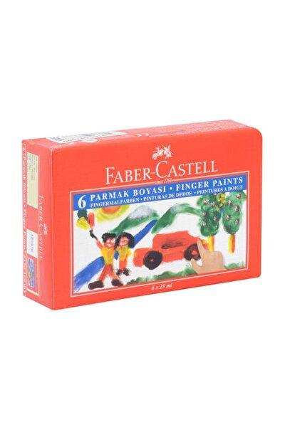 Faber Castell 6 Renk Parmak Boyası