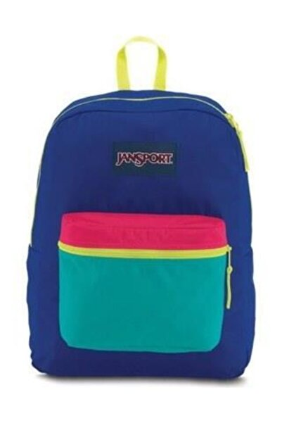Jansport Exposed Regal Blue/neon Yellow A3c4x4c1