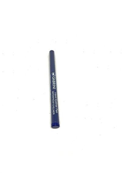 Gabrini Likit Mavi Eyeliner Liquid Eyeliner Pen