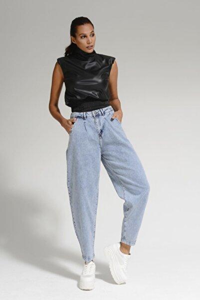 Batik Mavi Kadın Jean Pantolon A1089