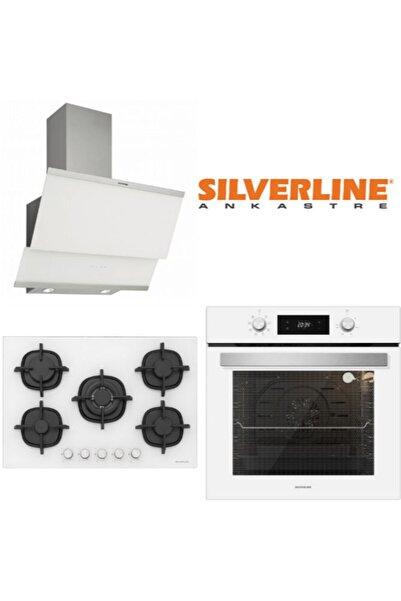 Silverline Sılverlıne Ankastre Set (Bo6504w01-3420 W Classy-cs5364w01)