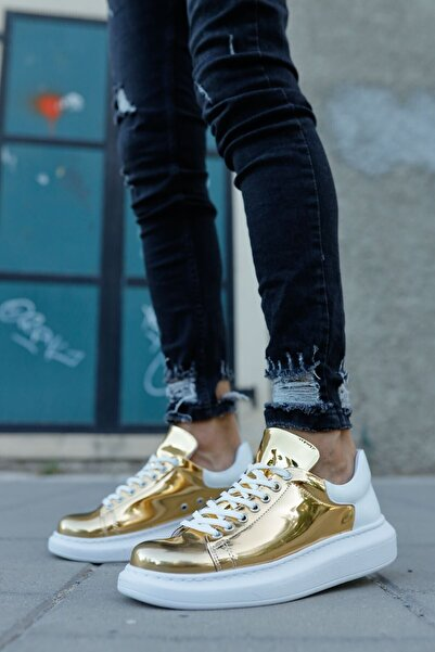 Chekich Ch Ch259 Bt Erkek Ayakkabı Altın / Beyaz