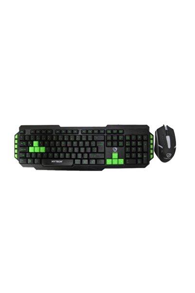 Hytech Hyk-46 Gamy Combo Siyah Usb Kırmızı Tuşlu Q Gaming Oyuncu Klavye + Mouse Set