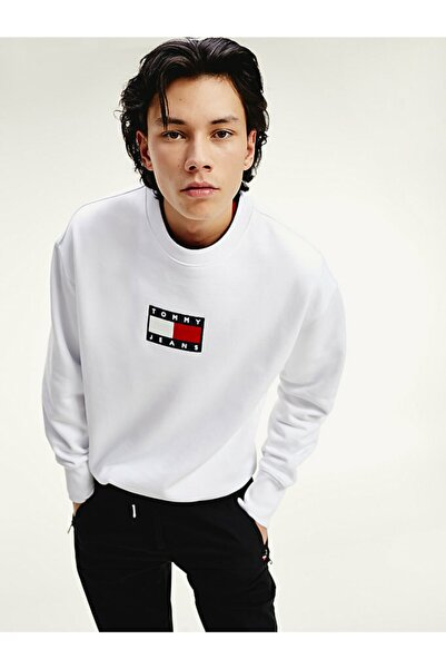 Tommy Hilfiger Erkek Tj Küçük Logolu Sweatshirt