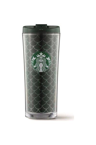 Starbucks Şeffaf Yeşil Termos 473ml