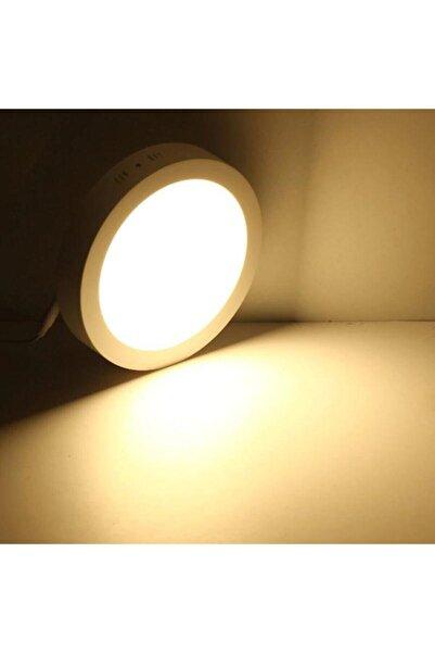 Led Mb Yuvarlak 18 Watt Günışığı Sıvaüstü Ince Panel Tavan Aydınlatma Armatür