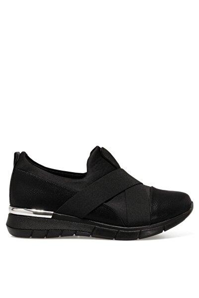 İnci Azurına Siyah Kadın Slip On Ayakkabı