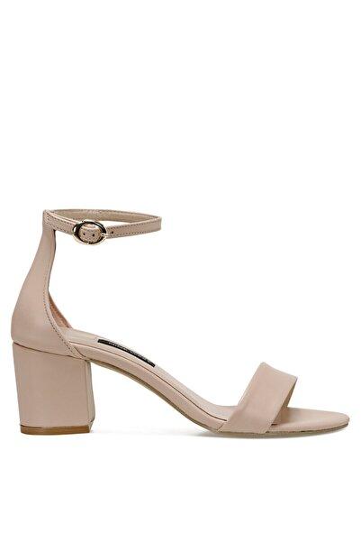 Nine West Badalıa-d Bej Kadın Sandalet