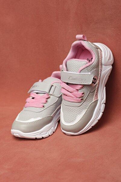 Oksit Unisex Çocuk Gri Calli 08 Spor Ayakkabı Sneaker