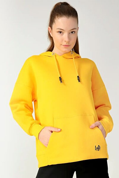 Loft Lf 2024837 Yellow W Sweatshırt