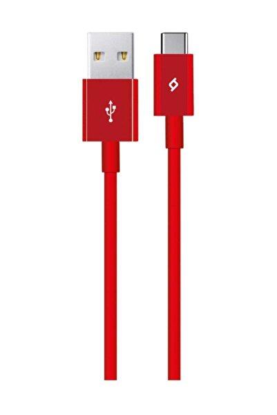 Ttec 2dk12k Type-c Şarj Kablosu Kırmızı