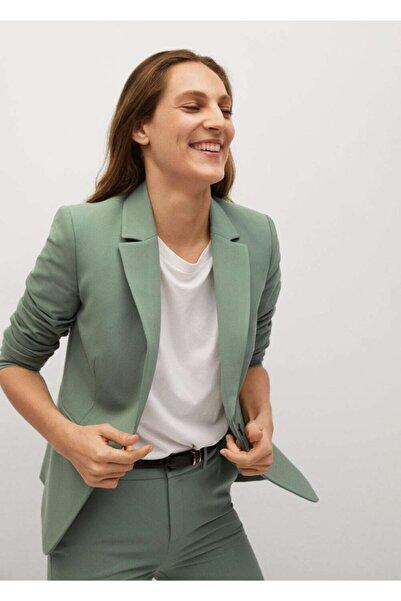 MANGO Woman Fit Kesim Basic Blazer Ceket