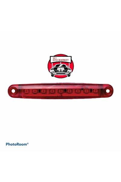 ÇERAY 9 Ledli Parmak Lamba En Uygun Fiyat 12-24 Volt 5 Adet Kırmızı