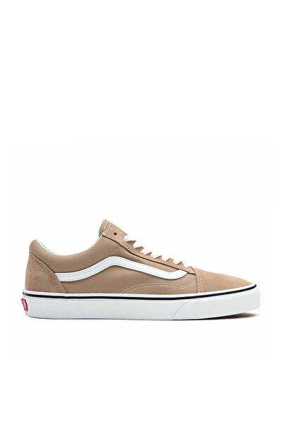 Vans Unisex Bej Bağcıklı Sneaker