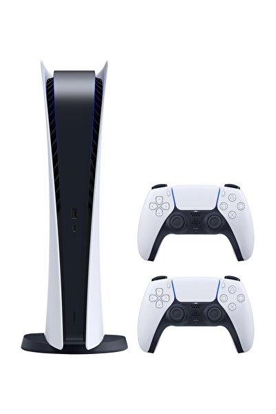 Sony Playstation 5 825 GB Dijital Sürüm - Türkçe Menü + 2. PS5 DualSense