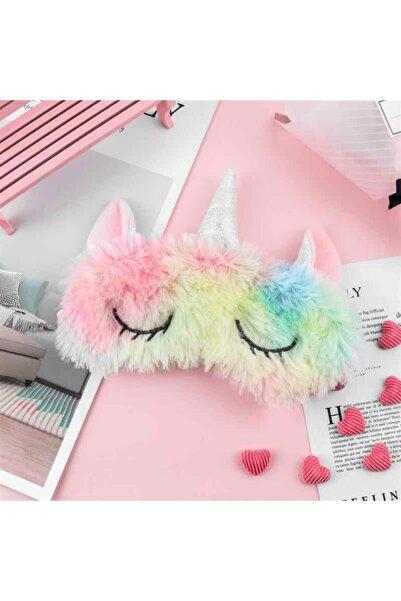 Fillikutum Sevimli Dondurma Unicorn Uyku Göz Bandı Maske