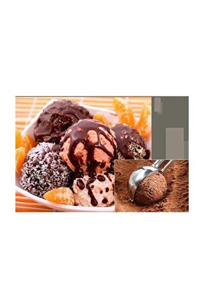 MİEN Dondurma Kaşığı Paslanmaz Çelik Çek Bırak Dondurma Kepçesi I 22 Cm Kurabiye Kepçesi