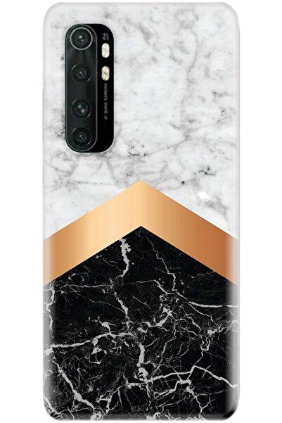 Noprin Xiaomi Mi Note 10 Lite Kılıf Silikon Baskılı Desenli Arka Kapak