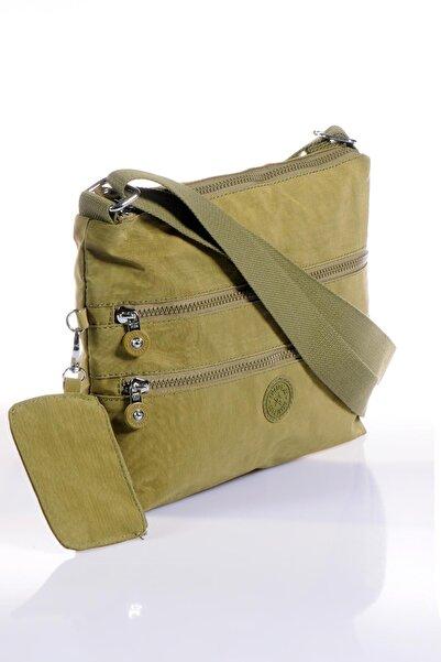 SMART BAGS Koyu Yeşil Kadın Postacı Çantası Brc1185-0029