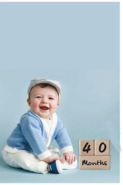 Babyroom Anne Bebek Ahşap Çekim Ve Dekor Anı Küpleri 3 Lü Kombin