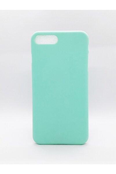 Molly Iphone 7/8 Plus Su Yeşili Pastel Bella Silikon Kılıf
