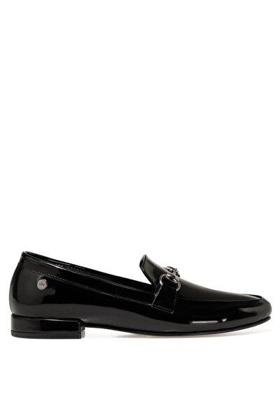 Nine West Suela3 Siyah Kadın Loafer Ayakkabı