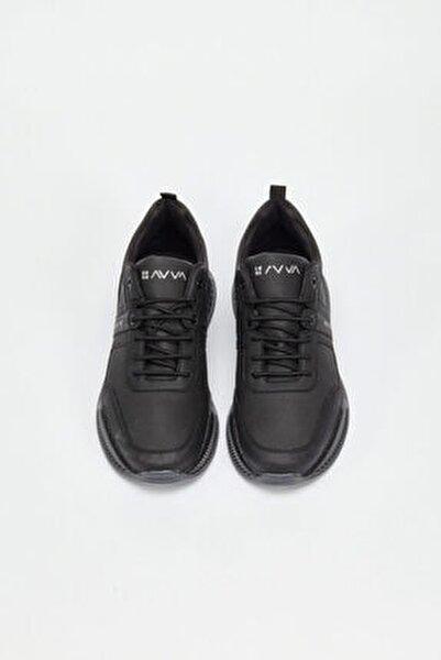 Erkek Siyah Spor Ayakkabı A02y8016