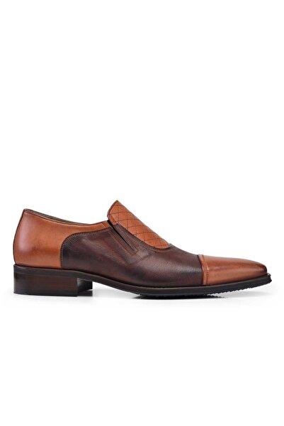 Nevzat Onay Hakiki Deri Taba Klasik Loafer Erkek Ayakkabı -7780-