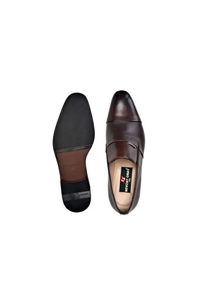 Nevzat Onay Hakiki Deri Kahverengi Günlük Loafer Neolit Erkek Ayakkabı -11348-