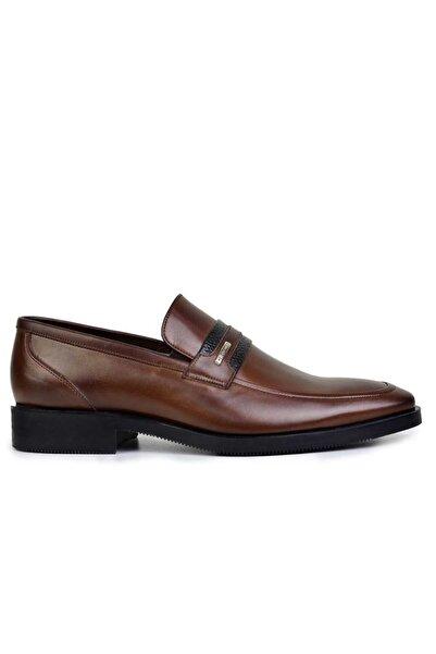 Nevzat Onay Deri Kahverengi Günlük Loafer Erkek Ayakkabı -8086-