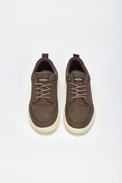 Avva Erkek Kahve Spor Ayakkabı A02y8013