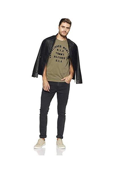 Tommy Hilfiger Printed Regular Fit Organic Cotton Erkek T-shirt
