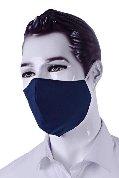 Ottomoda Lacivert Antibakteriyel Yıkanabilir Maske