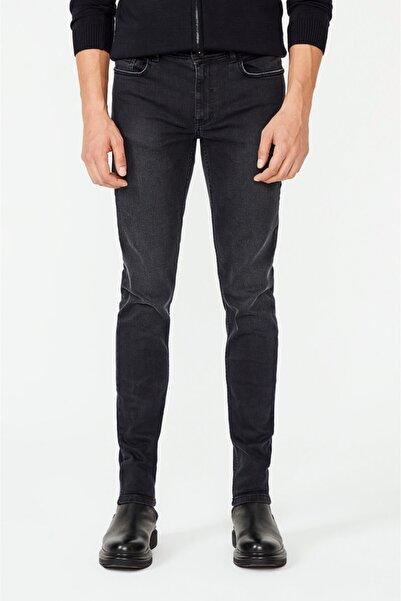 Avva Erkek Antrasit Slim Fit Jean Pantolon A02y3586