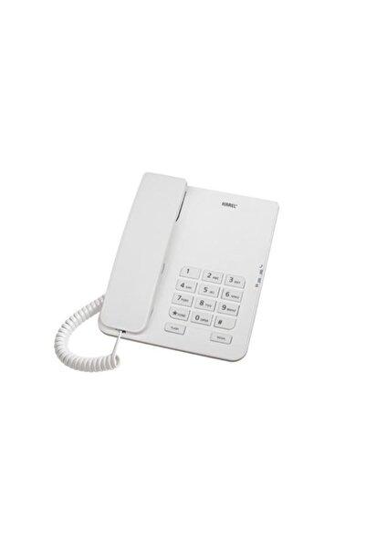 KAREL Tm140 Beyaz Analog Masa Üstü Kablolu Telefon