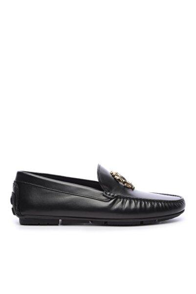 Roberto Cavalli Erkek Derı Rok Ayakkabı 780 1034 Ab Erk Ayk Sk20-21