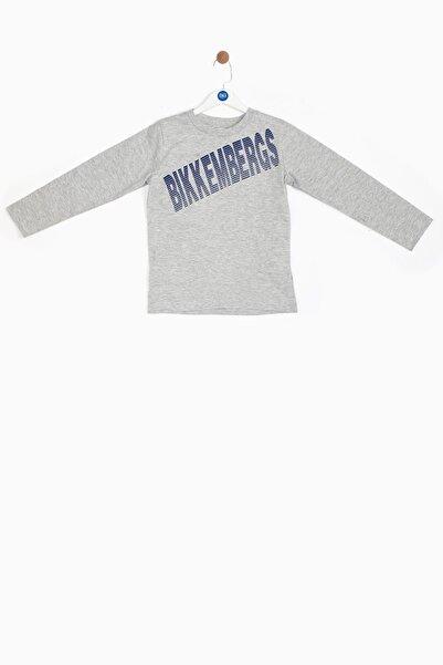 Bikkembergs Erkek Bebek Gri T-shirt