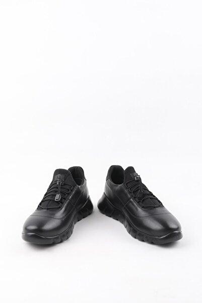 Buffalo Erkek El Yapımı Siyah Casual Ayakkabı