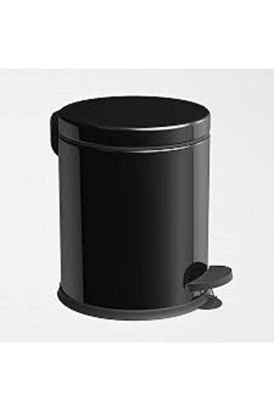 Onno Banyo 5lt Siyah Pedallı Çöp Kovası