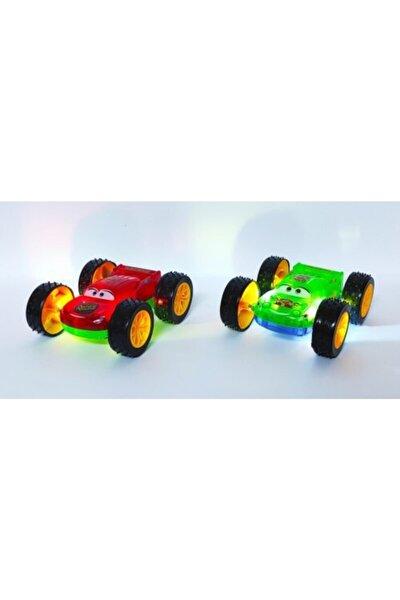 Brother Toys Çift Taraflı Işıklı Takla Atan Sürtmeli Akrobat Araba