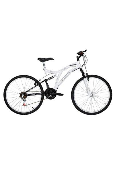 TEC Master 26 Jant Çift Amortisörlü 21 Vites Dağ Bisikleti Beyaz