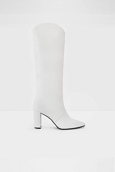 Aldo Kadın  Beyaz Topuklu Çizme